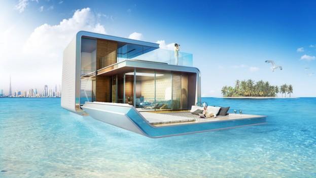 La maison flottante de Dubaï The Seahorse