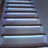 Un nouveau genre d'escalier plutôt lumineux